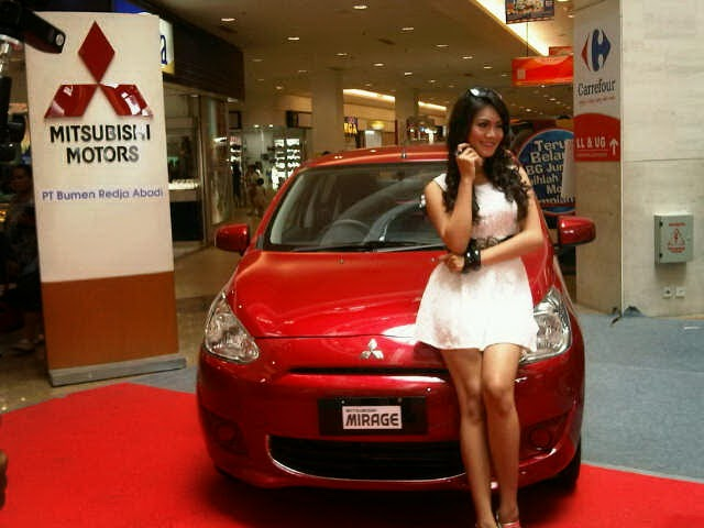 Model Mitsubishi Mirage 2014
