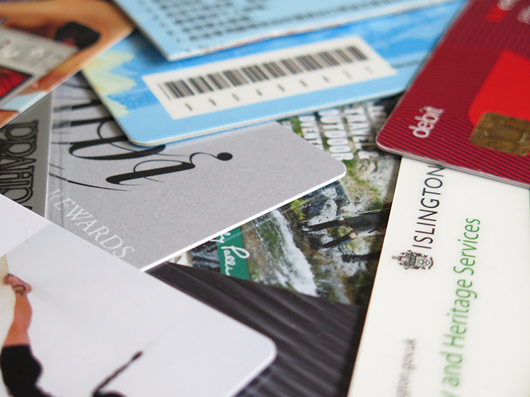 Plastic cards: what to do with old bank cards and other plastic cards