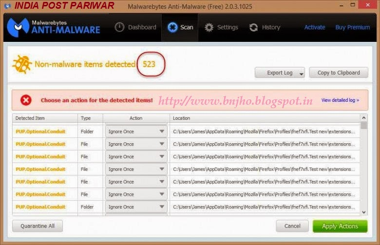 INDIA POST PARIWAR: Bitdefender Adware Removel Tool (BETA)