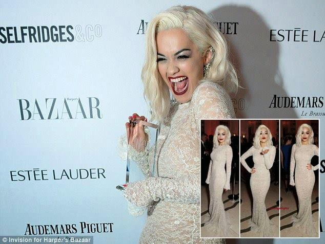 "Rita Ora merr cmimin ""Muzikantja e Vitit 2013"""