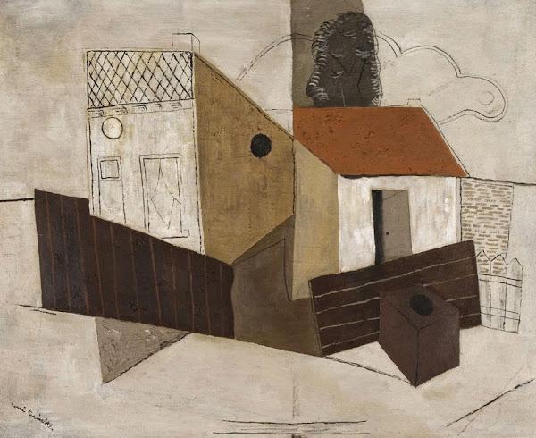 Anvers / Antwerpen - Maison-Atelier de Réné Guiette  Architecte: Le Corbusier, Extension: Georges Baines (1987)  Construction: 1926-1927