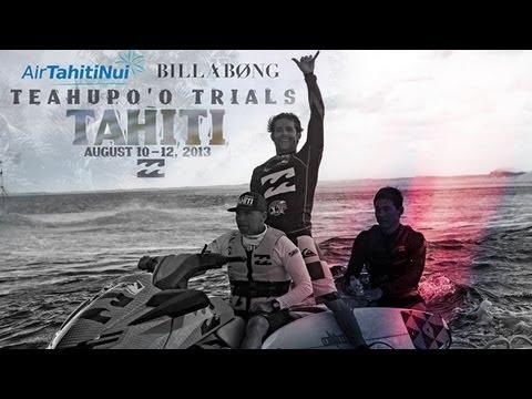 Air Tahiti Nui Billabong Trials winner 2013