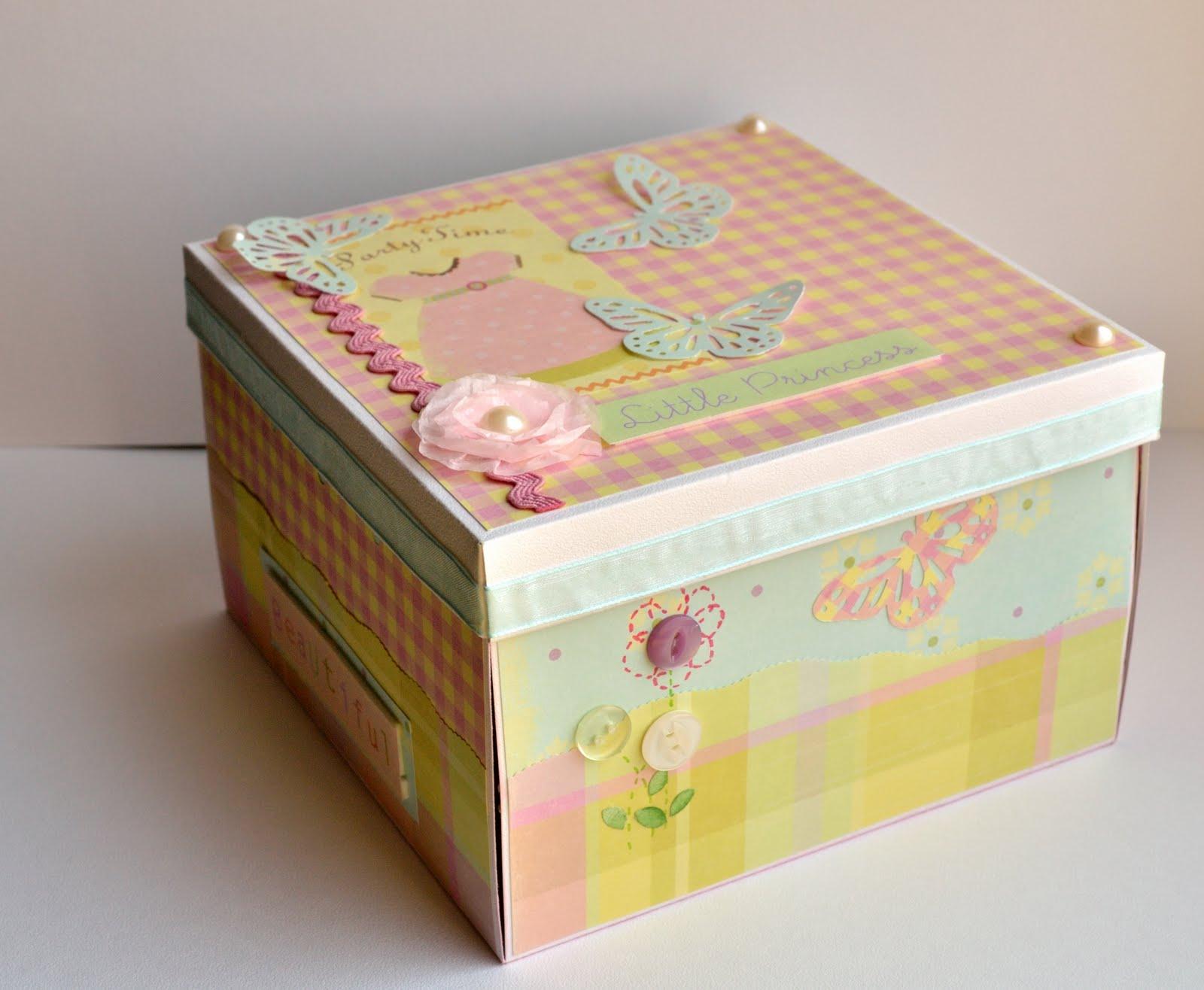 Коробка для детского подарка 59