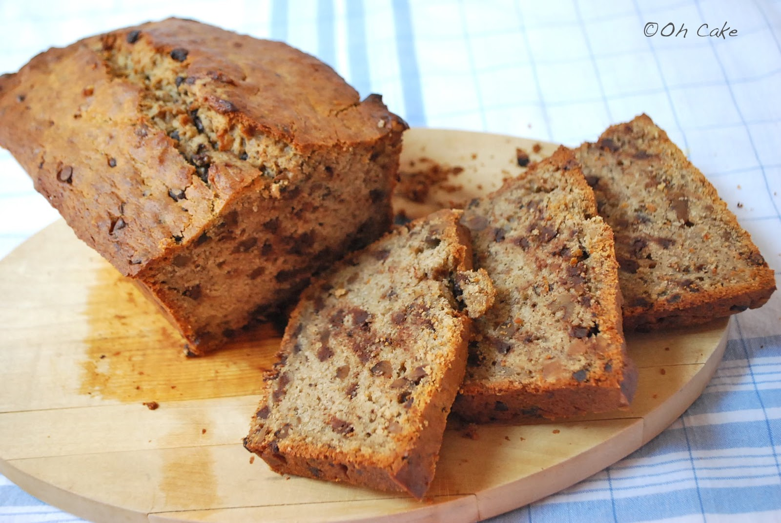 Oh Cake: Brown Butter Banana Bread with Chocolate Chips & Toasted ...