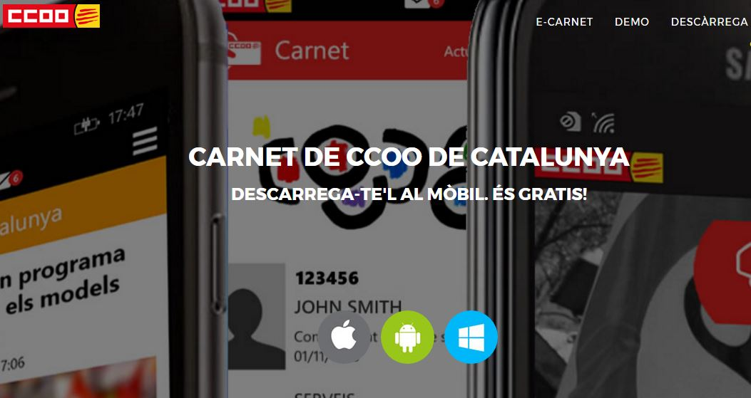 App CCOO y e-Carnet