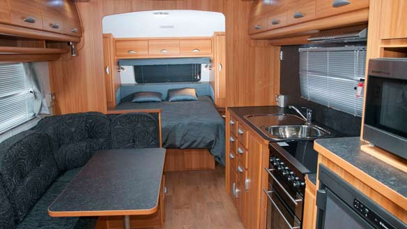 survey express services measure moisture in caravans and