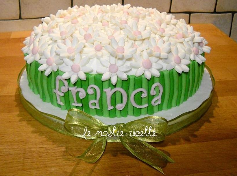 Le nostre ricette torta mazzo di fiori for Come costruire un mazzo di 2 piani