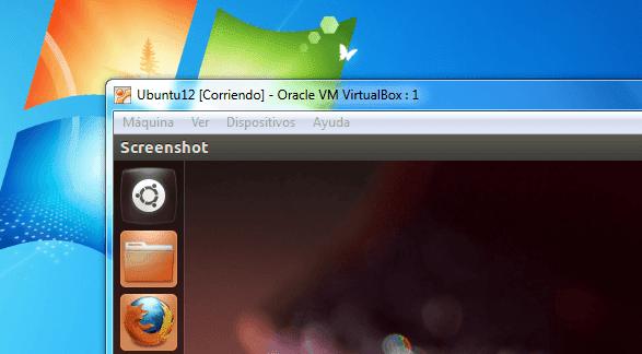 ubuntu linux en una maquina virtual