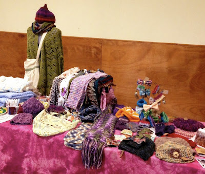 handmade items at a craft fair