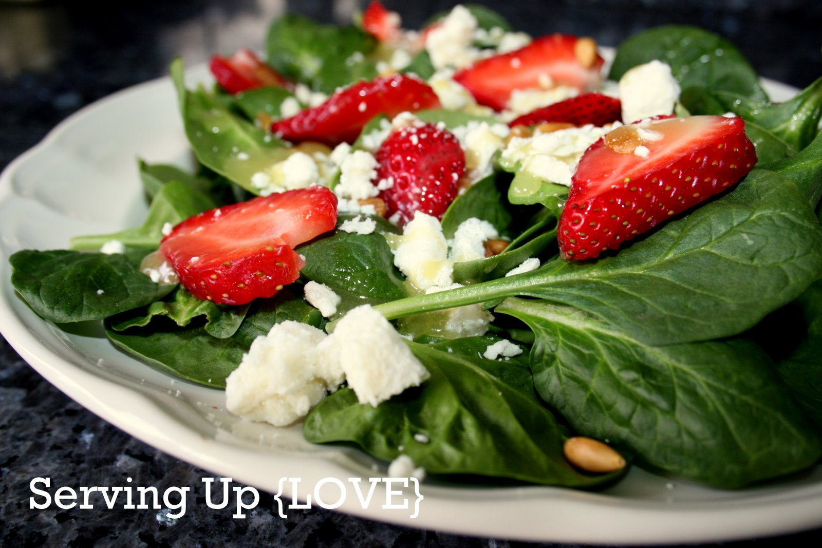 Katherine's Kitchen: Serving Up {Salad}: Strawberry Spinach Salad