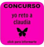 Bases Concurso Yo Reto a Claudia