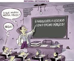 E a educação?