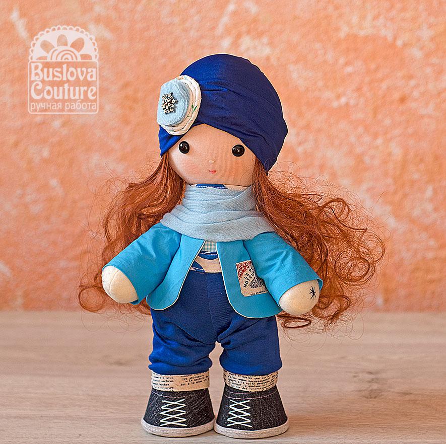 кукла, Буслова Евгения, игрушки, текстильная кукла