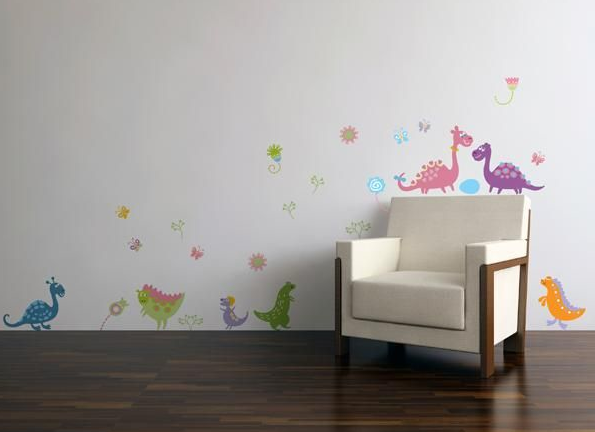 Sofies villa: wallstickers // barnerom