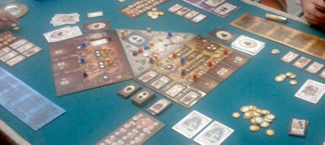The Prodigals Club 2 Player Game