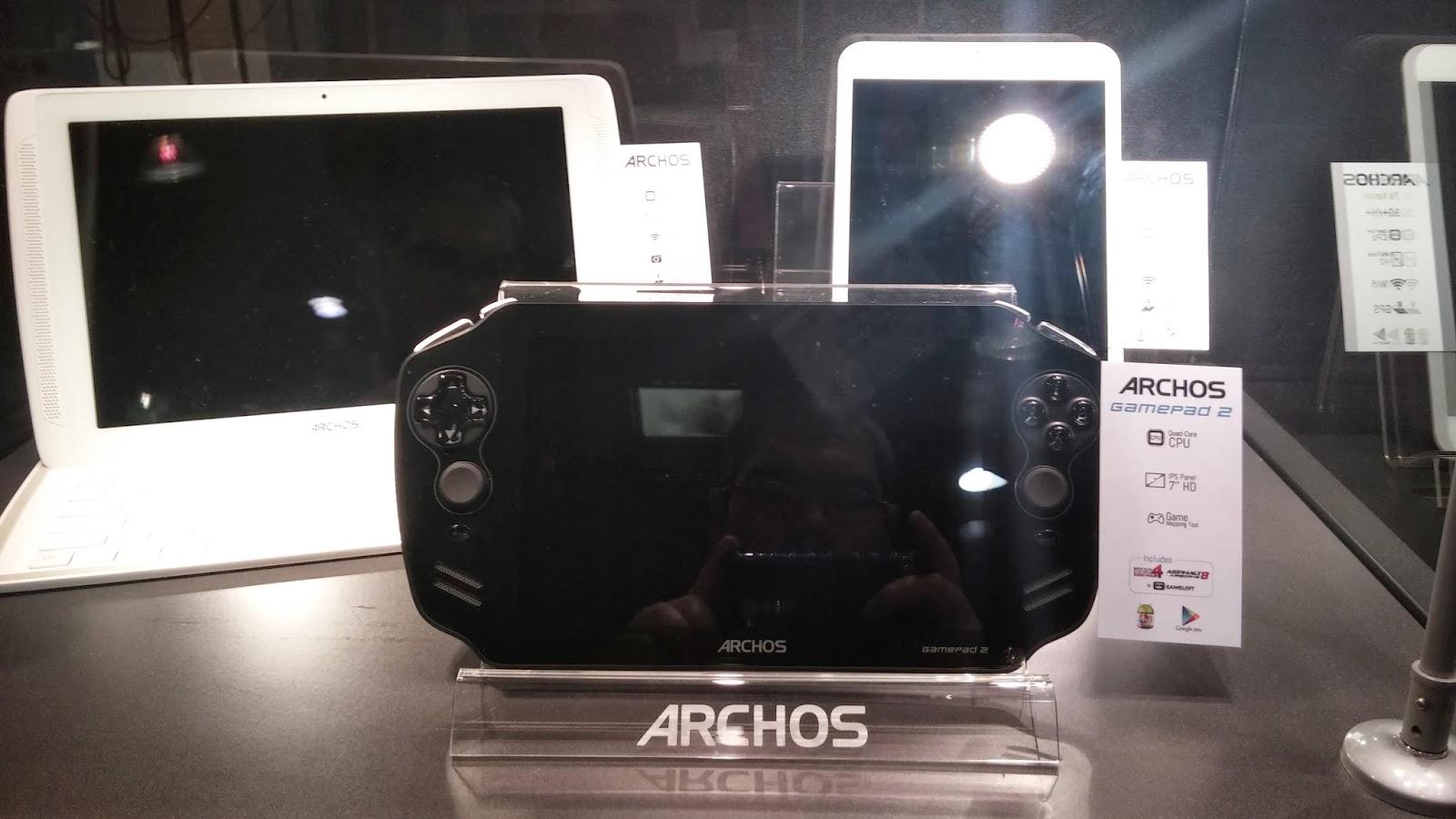 Dispositivo Android para jugar, presentado en el MWC14