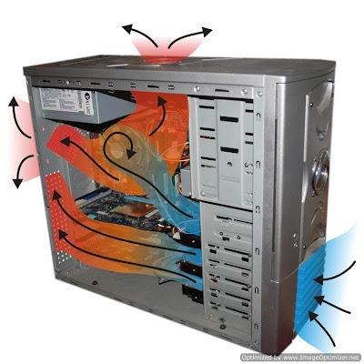 Fluxo de ar é muito mais importante dentro da CPU