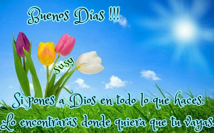 Imagenes De Buenos Dias Con Rosas - Imágenes con Frases para dar los Buenos Días Feliz Día