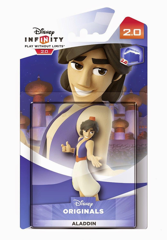 TOYS : JUGUETES - DISNEY Infinity 2.0 Figura Aladin | Muñeco | Disney Originals | Aladdin  Videojuegos | Producto Oficial | A partir de 7 años  Xbox One, PlayStation 4, Nintendo Wii U, PlayStation 3, Xbox 360  Disney | 7 noviembre 2014