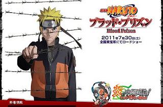 Naruto Shippuden Movie 5 Blood Prisson