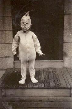 aterradores disfraces antiguos de Halloween