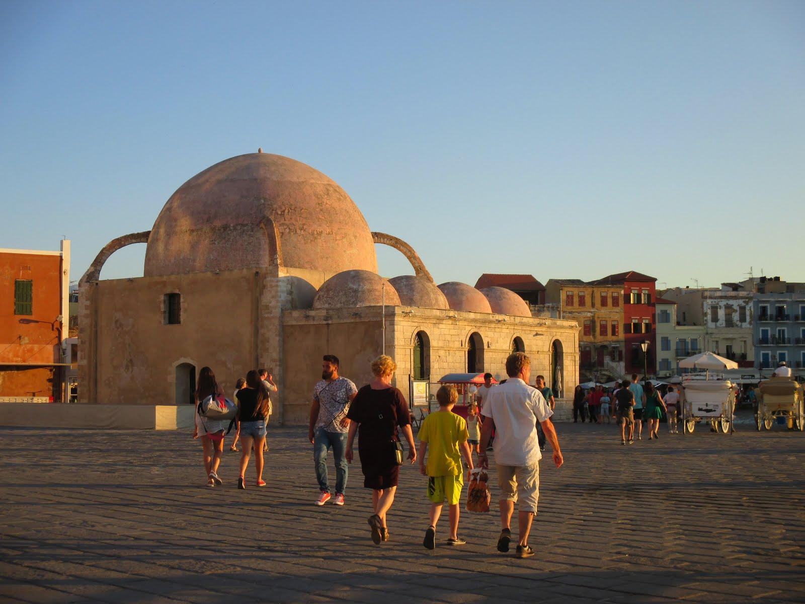 Old Port, Chania, Crete, July 2015
