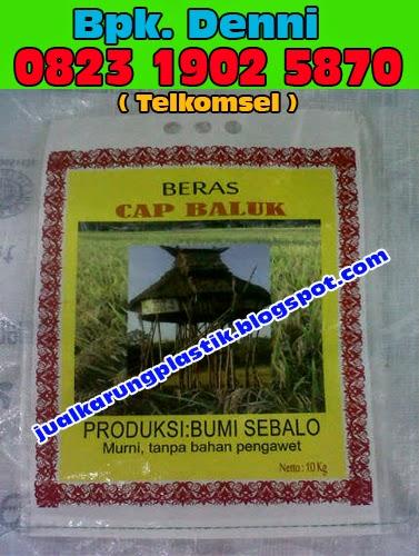 Karung Beras 5 Kg, Karung Beras 50 Kg, Karung Beras 25 Kg, Karung Beras Di Surabaya, Karung Beras Murah.