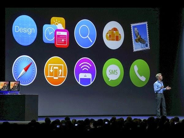 ஆப்பிளின் iOS - 8 குறித்த அறிவிப்பு வந்தாச்சு....!