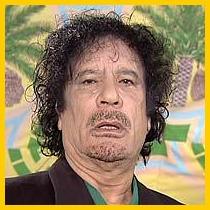 Moammar Gaddafi's Political Moustache