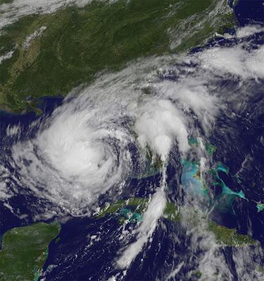 Tormenta Tropical Isaac Oeste de Florida