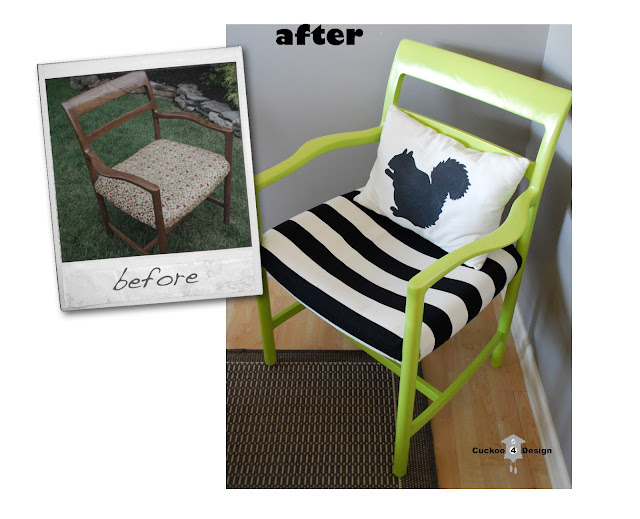DIY vintage chair by cuckoo4design