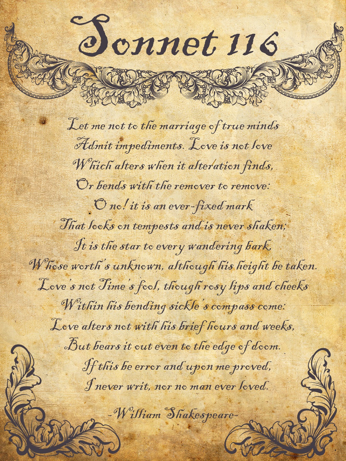 Sonnet Cxiv - Poem by William Shakespeare