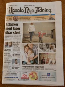 Freja i Uppsala Nya Tidning
