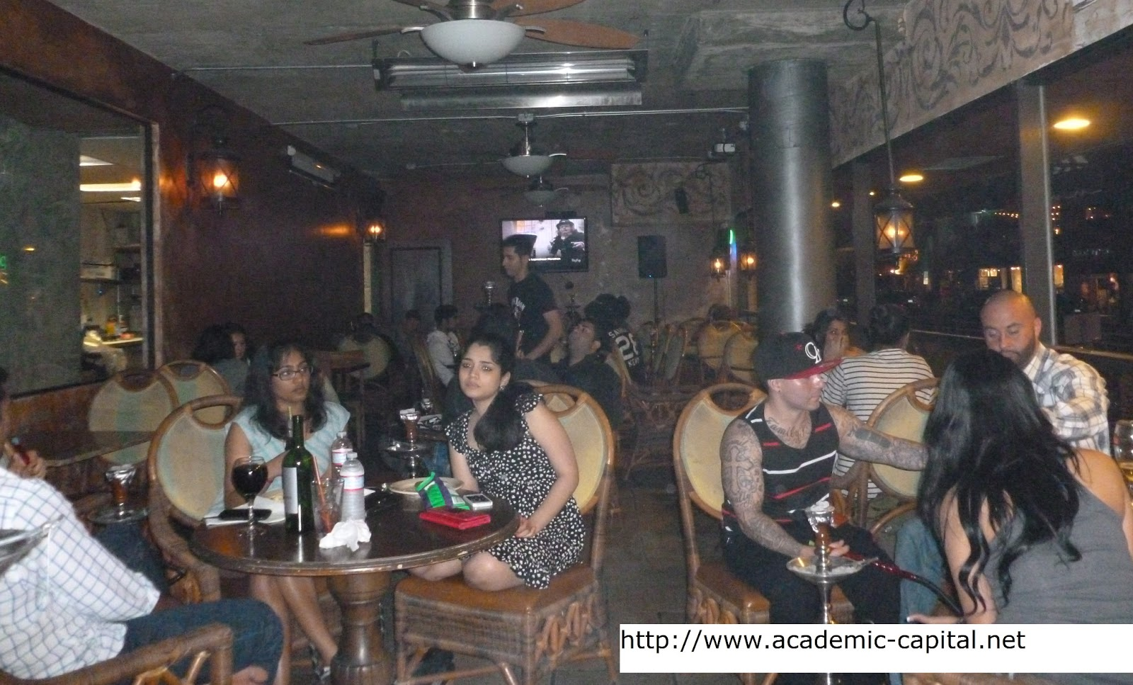 Academic Capital La Jolla Hookah Lounge Review Just Look Up