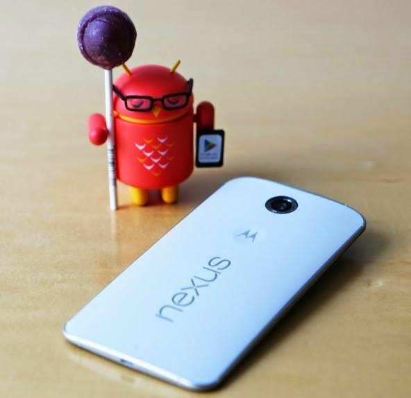 Android LolliPop 5.0 – the new dessert on Nexus