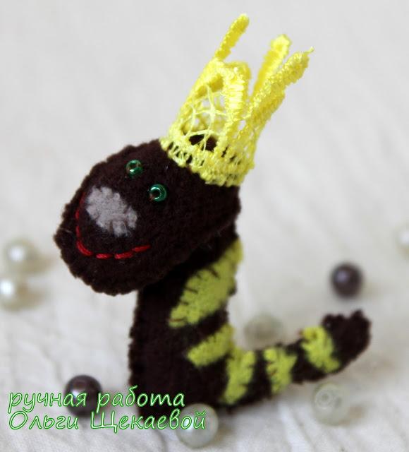змея, китайский гороскоп, ёлочная игрушка