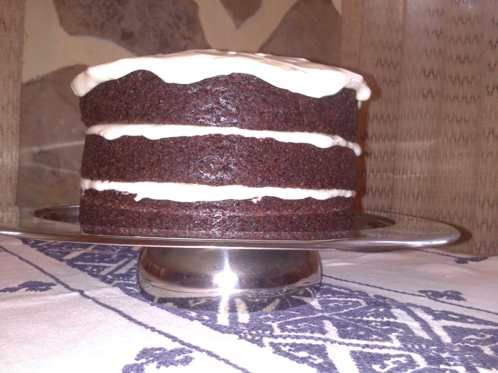 chocolate guinness layer cake
