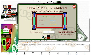 NEW CHEAT ATM EXP UPDATE By Xeron (kyokushin)