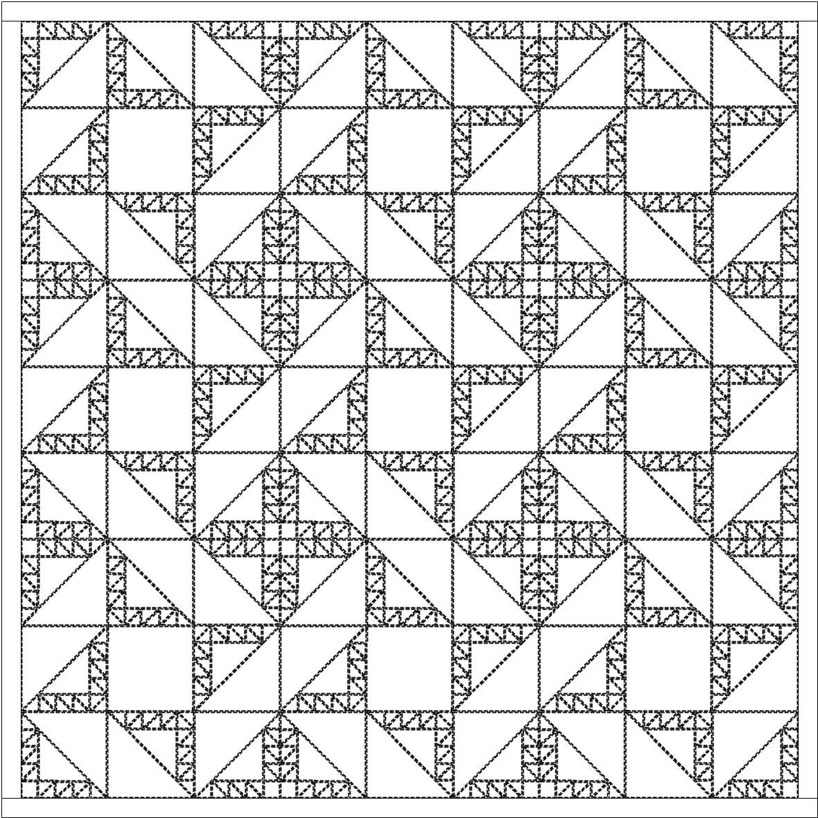 Line Drawing Of Quilt : A quilter doing machine embroidery hand piecing and