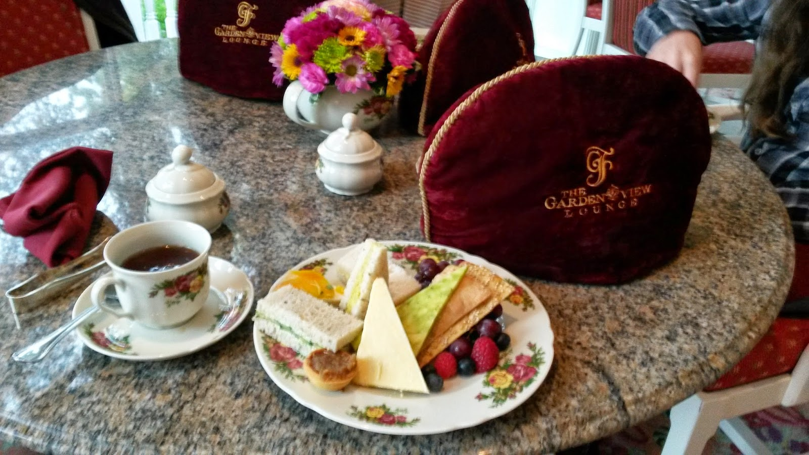 Monica 39 S Travels And Reviews Afternoon Tea At Garden View Tea Room