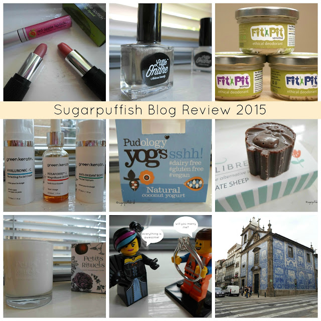 Sugarpuffish Blog Review for 2015 a look back a my favourite products and events