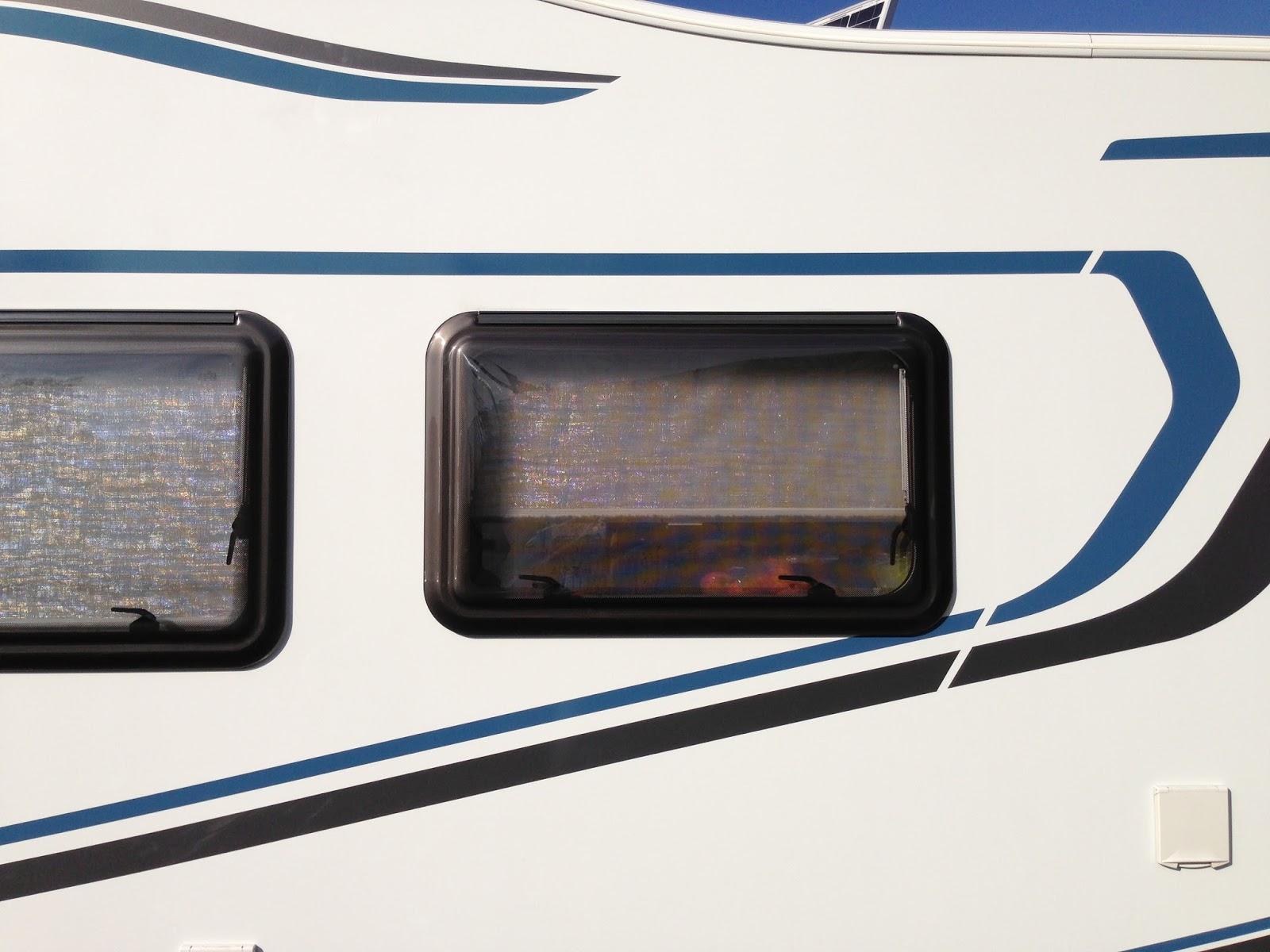 Unterwegs mit den Wo Mo Fenster Spiegel folie