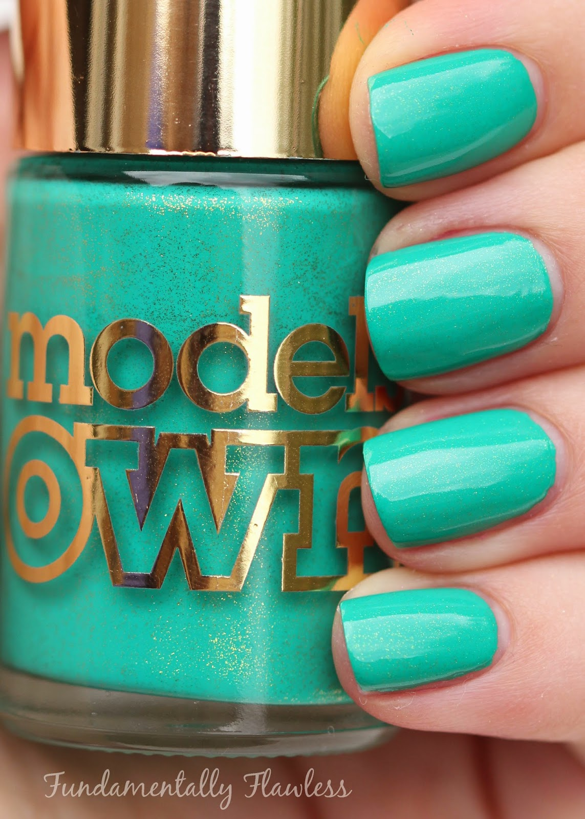 Models Own Diamond Luxe Emerald Green Swatch
