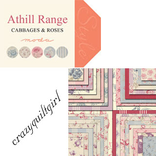 Moda ATHILL RANGE Quilt Fabric by Cabbages &amp; Roses