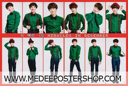 EXO - Miracles in December Poster