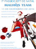 7º Passeio de Natal Malhos Team - 11 Dezembro 2016