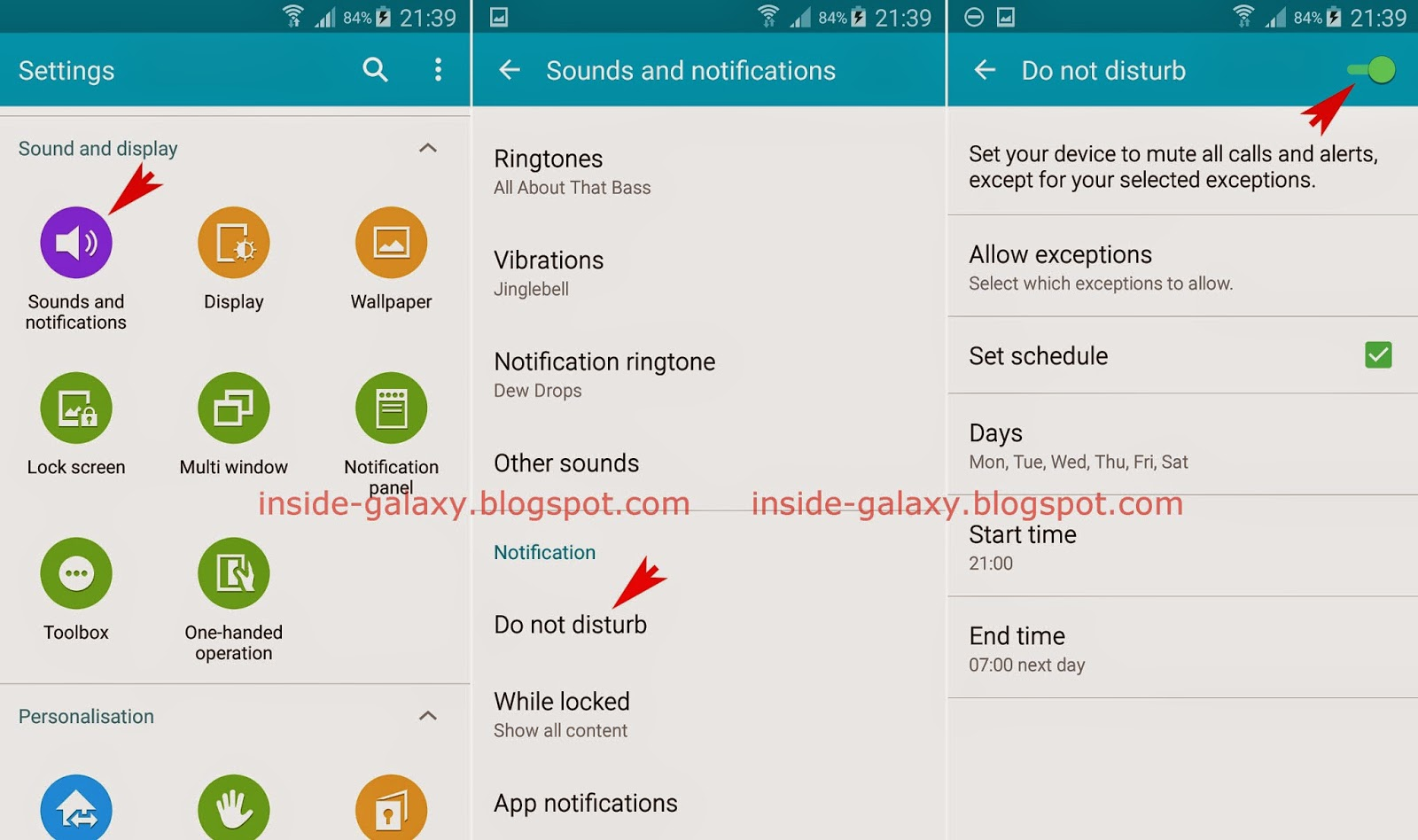 Samsung Galaxy S5: How to Use Do Not Disturb Feature in Android 5.0