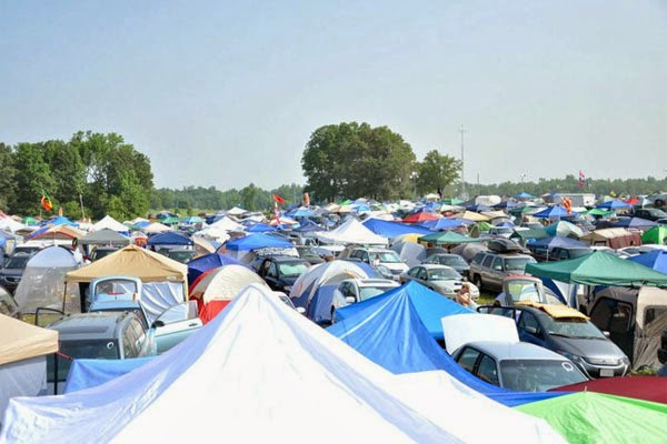 The Bonnaroo Tent City