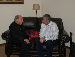 Bishop Javier Echevarría, Prelate of Opus Dei, Mark Cogitates