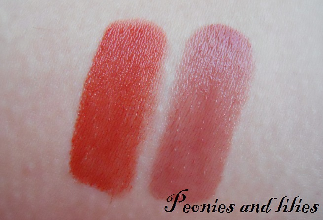 Natorigin, Natorigin lipstick review, Natorigin lipstick swatch, Natorigin coral lipstick swatch, Natorigin fig lipstick swatch